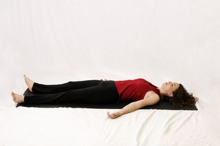 Savasana, relaxation pose, corpse pose, yoga pose of the month, museasana, musasana