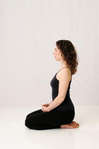 virasana, vajrasana, neutral pelvis, pelvis, laura erdman-luntz, muselaura, muselan, yoga, hatha yoga