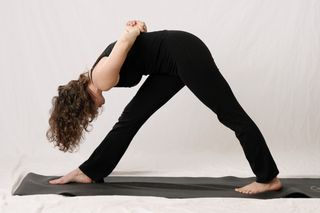 Yoga Side Stretches Pose