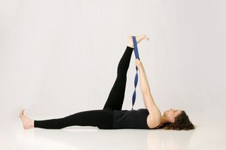 Supta Padangusthasana, Reclining Big Toe Pose, yoga, hatha yoga, muselaura, muselan, museasana, musasana, yoga study, study one pose a month, laura erdman-luntz