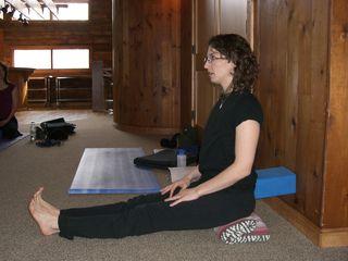 dandasana, staff pose, musasana, museasana, yoga, hatha yoga, studying one pose a month