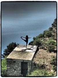 Laura on Capri