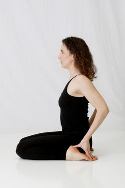 Virasana (Hero's Pose), yoga pose